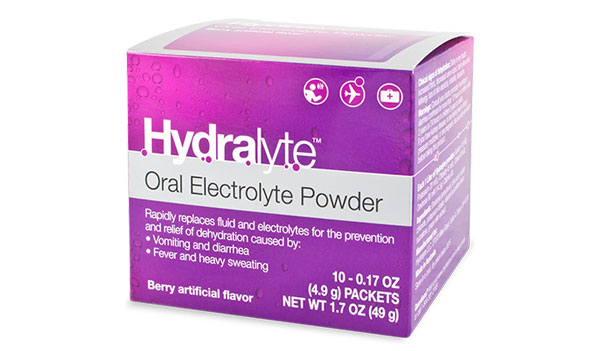 FREE Hydralyte Oral Electrolyte Powder Sample (US)