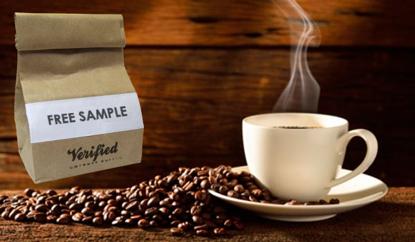 Free Verified Coffee Sample
