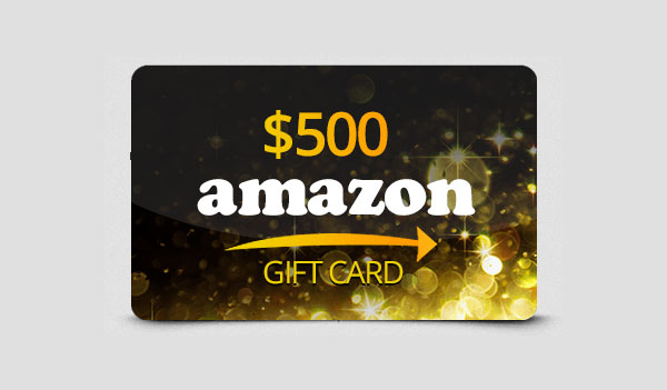 $500 Holiday Amazon Gift Card (US)