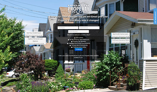 Updated Property Values (US)