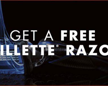 FREE Gillette Razor Sample (US)