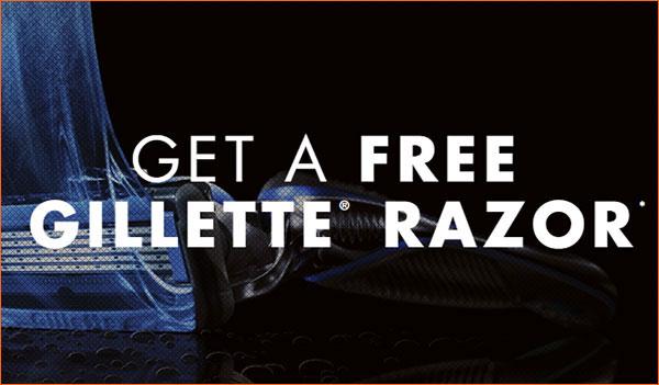 Gillette Razor Sample (US)