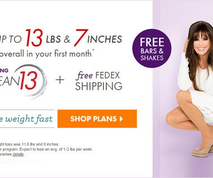 Nutrisystem Coupon Codes – Lose up to 13 lbs & 7 inches (US)