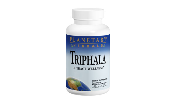 Planetary Herbals Triphala 1,000 mg 180 Tabs