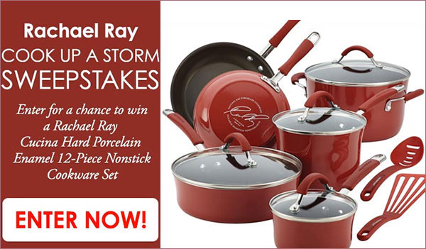 rachel ray giveaway rachael ray cook up a storm sweepstakes us 5087