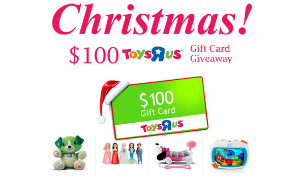 $100 Toys R Us Gift Card – Christmas! (US)
