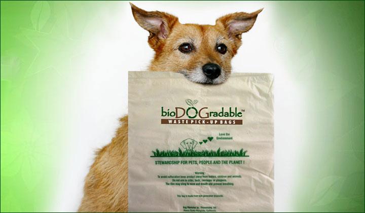 FREE Dog Waste Bag Samples