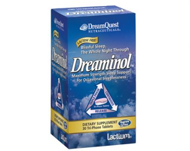 FREE Dreaminol Tablets Sample from Nature's Plus (US)