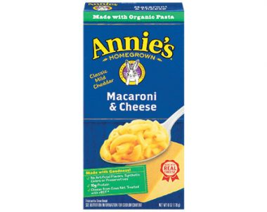 FREE Annie's Homegrown Natural Macaroni & Cheese at Kroger (US)