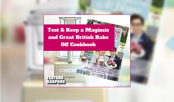 Testers Keepers – Great British Bake Off Cookbook (UK)