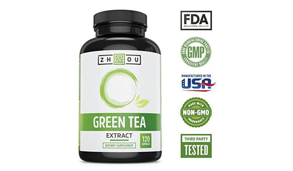 Green Tea Extract Supplement for Weight Loss – Herbal Metabolism Boosters