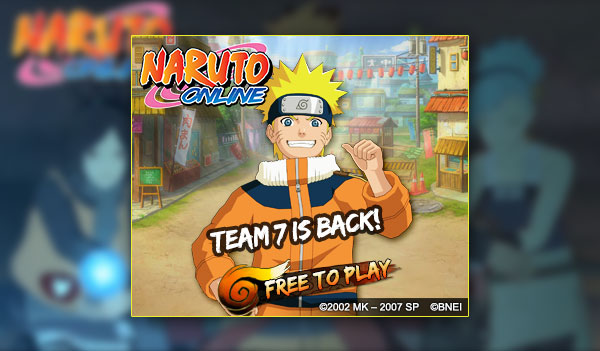 Naruto MMORPG Game (US, CA)