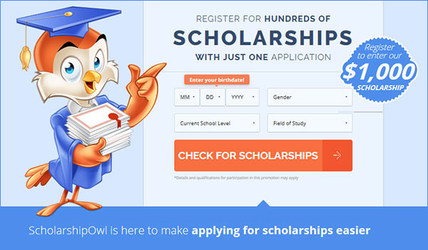 Scholarship Owl – Free 7 Day Trial (US)
