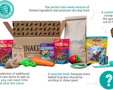 The Naked Dog – First Box $10 (US)