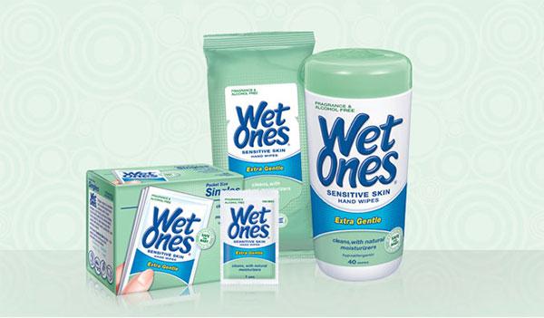 Win Wet Ones Hand Wipes! (US)