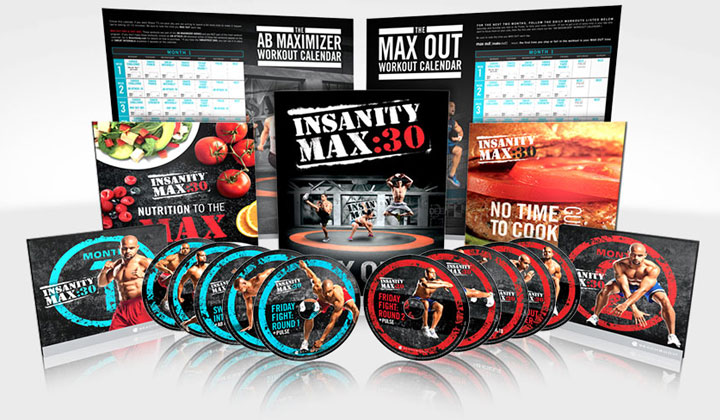 Beachbody Insanity Max 30 Workout Program (UK Only)
