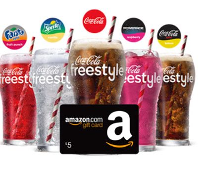 Coca-Cola Freestyle App + $5 Amazon.com is back (US)