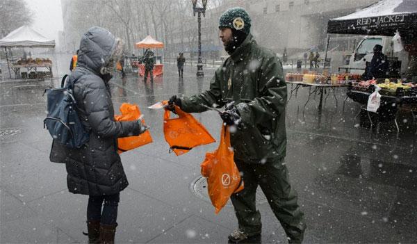 DSNY Reusable Bag Giveaway (NY)