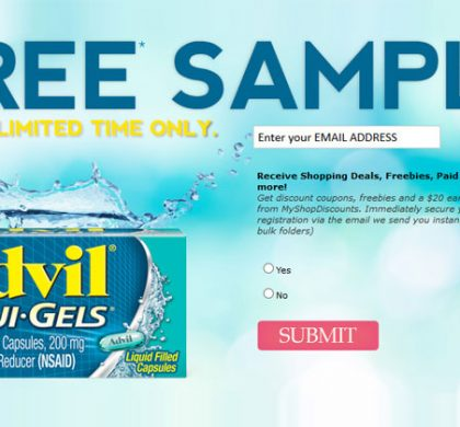 FREE Advil Samples (US Only)