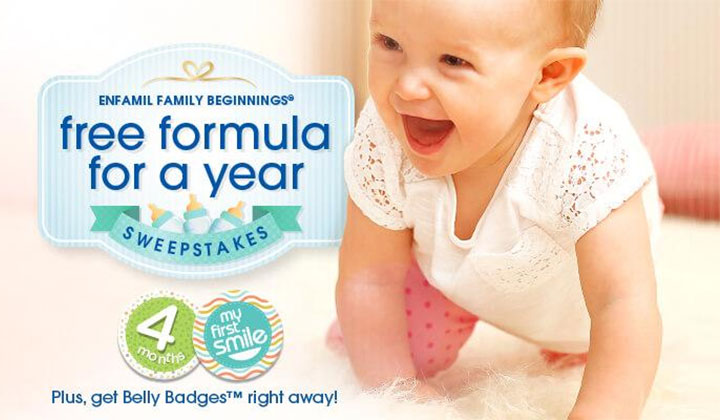 FREE Enfamil Samples – Get Belly Badges