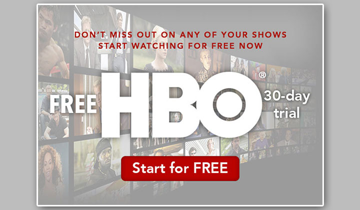FREE HBO Subscription (US Only)