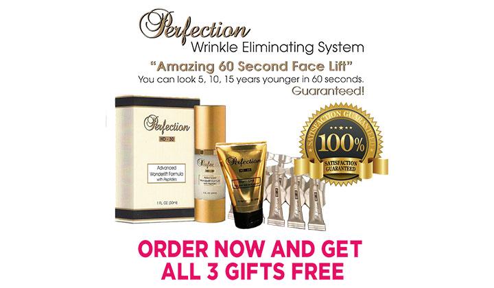 FREE Sample of Perfection Hd30 Anti-Wrinkle Cream (US)