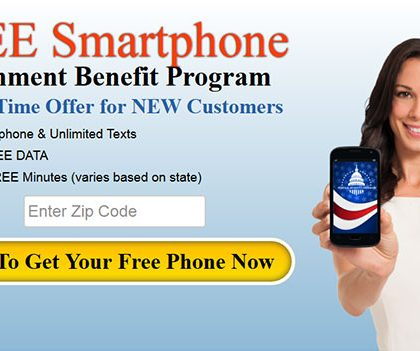 FREE Cell Phone – Government Benefit Program (US)