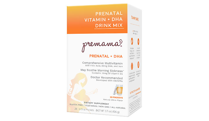 FREE Prenatal Vitamins Samples at Premama (US & CA Only)