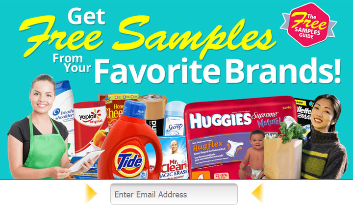 GET Free Samples Guide (US Only)