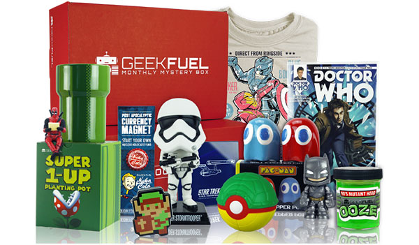 Geek Fuel Subscription – Monthly Subscription Boxes (US)