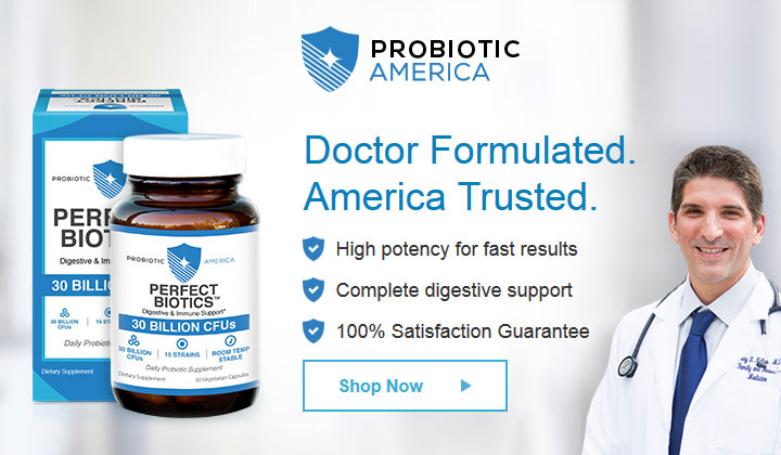 Probiotic America Coupon Code – Rebalance Your Gut Today with Perfect Biotics