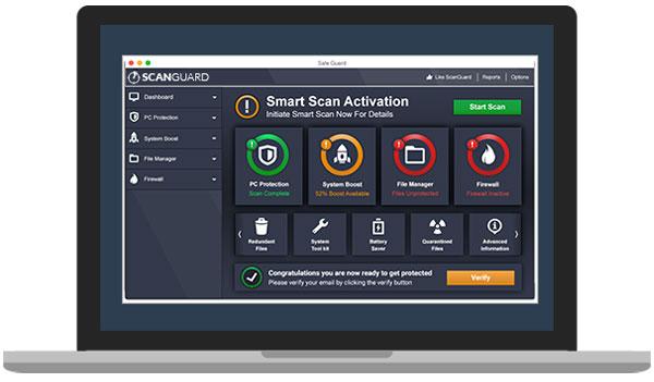 Scanguard Security & Optimization Software