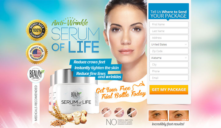Serum of Life Wrinkle Cream (US & CA Only)