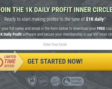 1K Daily Profit – Biz Opp – Sale