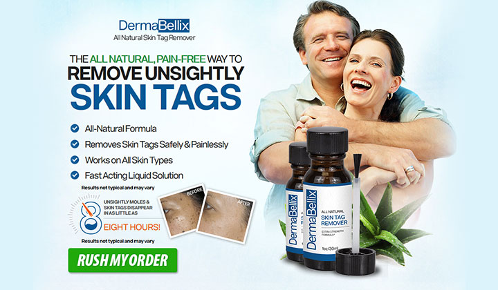 Dermabellix Skin Tag Remover: Tags Just Dry Up & Fall Off!