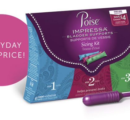 FREE Poise Pads Samples (US Only)