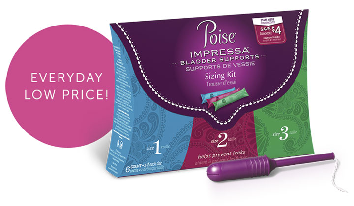 FREE Poise Pads Samples