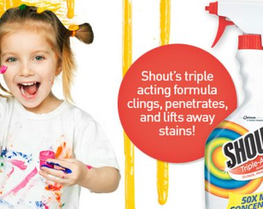 FREE Shout Triple Action Stain Remover Sample! (US Only)