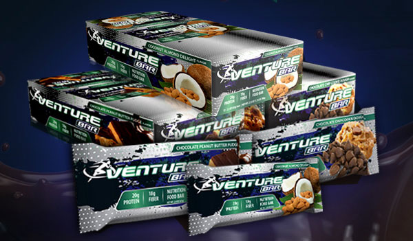FREE Venture Bar Samples! (US & CA only)