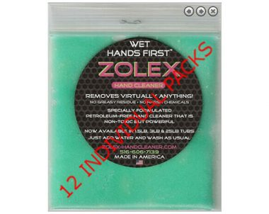 FREE Water-Activated Hand Cleaner Sample from Zolex (US Only)