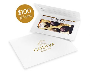 Get $100 in Godiva Gift Card for Easter – One Field (US Only)