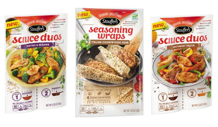 Meijer mPerks Coupons: FREE Stouffer's Seasoning Wraps or Sauce Duos (US Only)