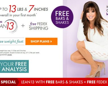 Nutrisystem Lean 13 – New Weight Loss Program and Save Money (40% OFF)