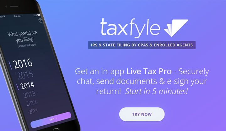 Taxfyle Tax Filing (US Only)