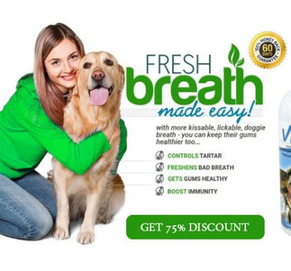 VitaPet Spray: Pet Dental Hygiene Product (75% Discount!)