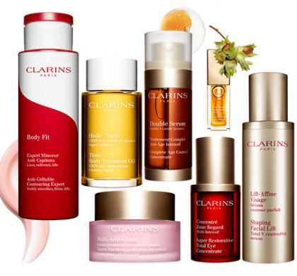 WIN $1000 in Clarins Beauty Products! (US Only)