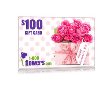 Get $100 in 1800 Flowers Gift Card for Mother's Day – One Field (US Only)