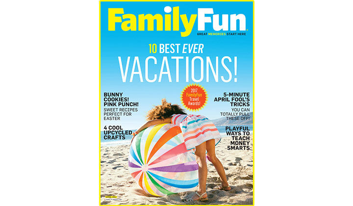 FREE Family Fun Magazine Subscription