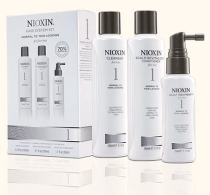 FREE Nioxin Shampoo and Conditioner Sample (US Only)