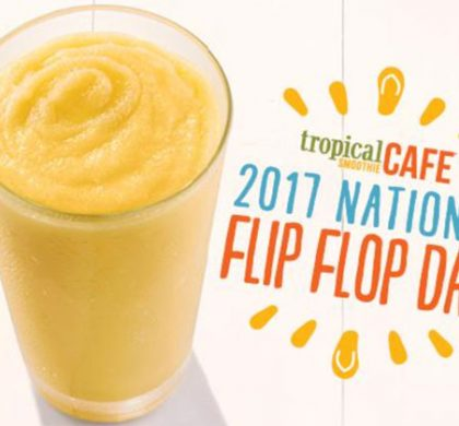 FREE Sunshine Smoothie at Tropical Smoothie Cafe on June 16 (US Only)